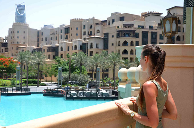 Dubaj Souk Al Bahar