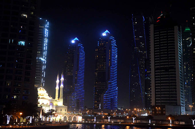 Dhow Cruise Marina Dubaj