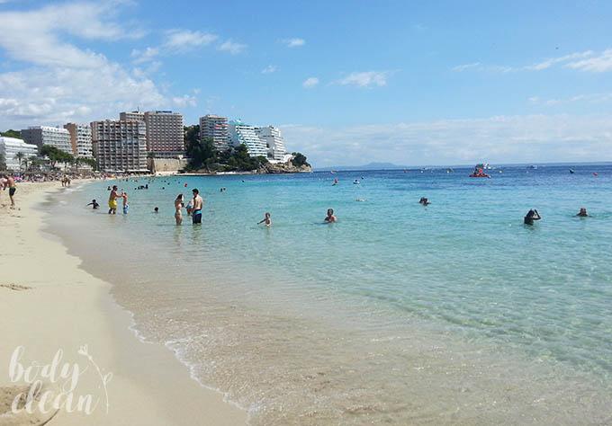 Plaża Magaluf Magaluf Beach Majorka
