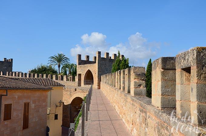 Majorka Mury miasta Alcudia
