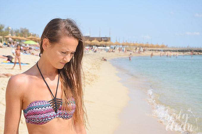Plaża Palma de Mallorca Majorka