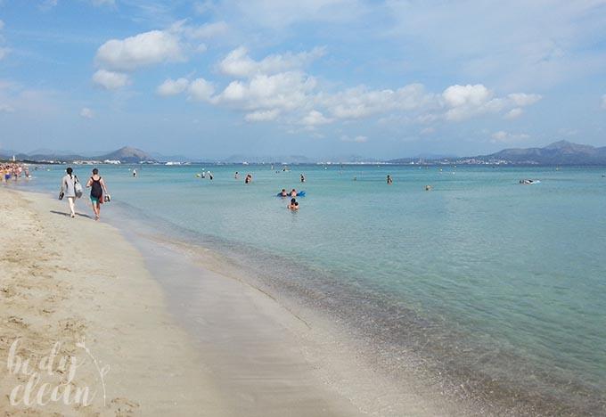 Majorka Playa de Muro Zatoka Alkudyjska