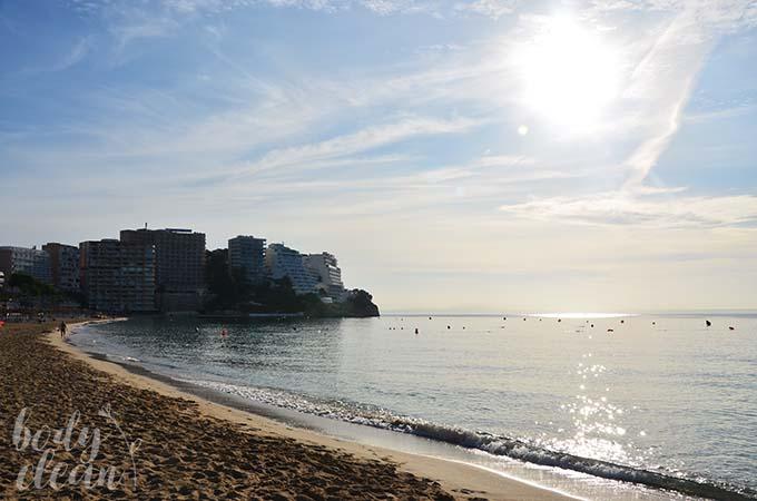 Plaża Magaluf Majorka Magaluf Beach