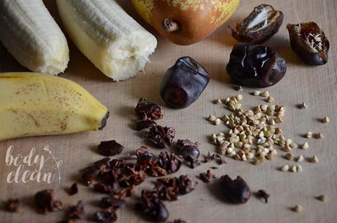 śniadanie bezglutenowe gryczanka czekoladowa