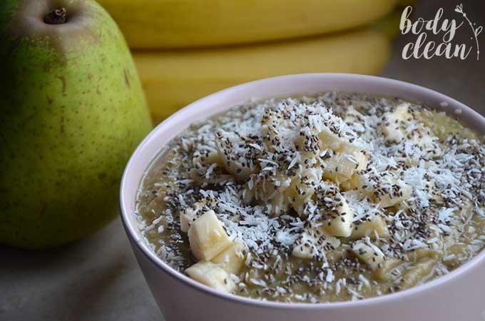 smoothie bowl wegańskie bezglutenowe