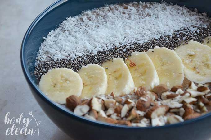smoothie bowls wegańskie bezglutenowe