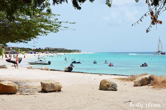 Karaiby Aruba Eagle Beach