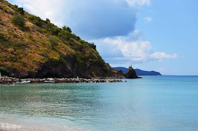 Karaiby Saint Kitts Frigate bay