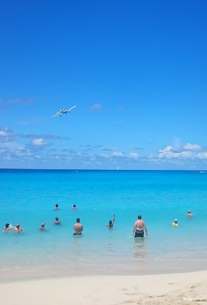 Karaiby Sint Maarten Maho Beach