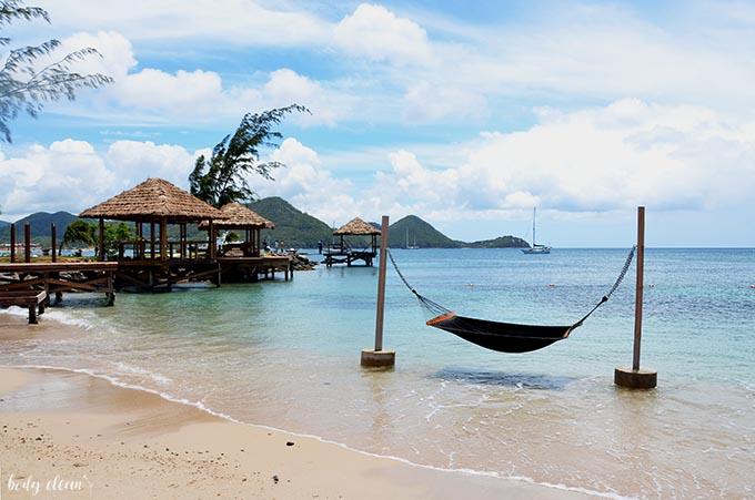 St. Lucia Pigeon Island Beach