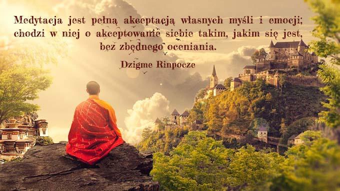medytacja szczęście świadome życie