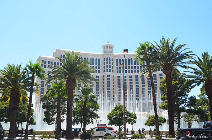 Las Vegas zwiedzanie Bellagio Hotel