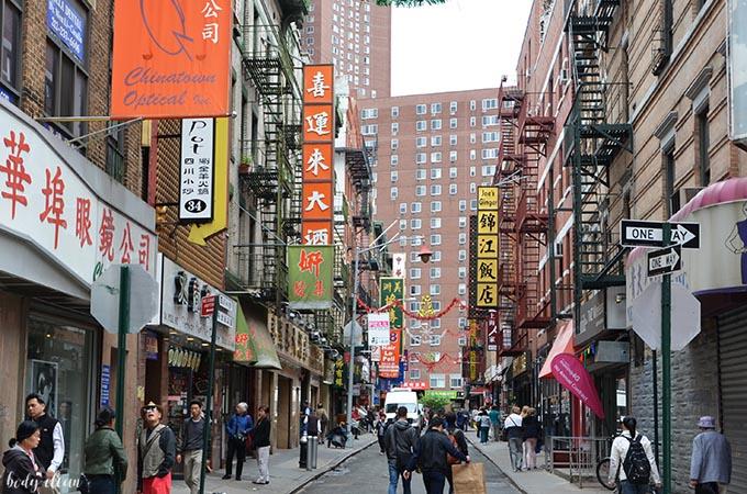 Nowy Jork co warto zobaczyć Chinatown