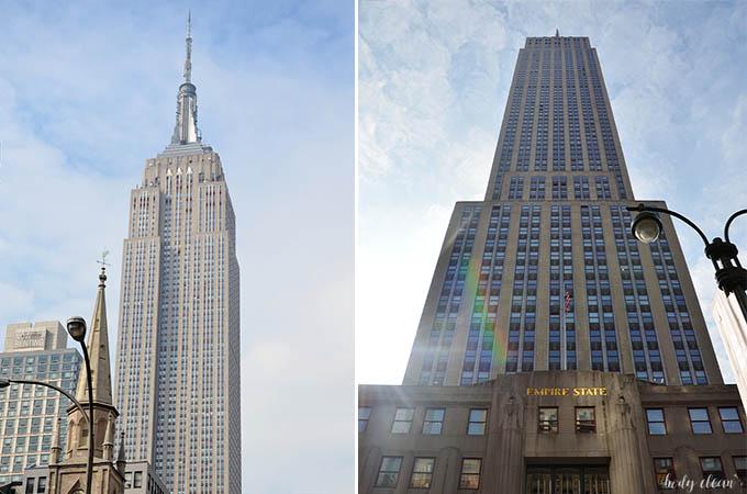 Nowy Jork co warto zobaczyć Empire State Building