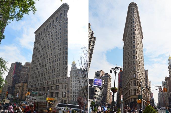 Nowy Jork co warto zobaczyć Flatiron Building