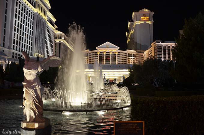 Las Vegas zwiedzanie Caesars Palace