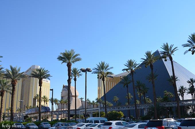 Las Vegas zwiedzanie Luxor Sphinx