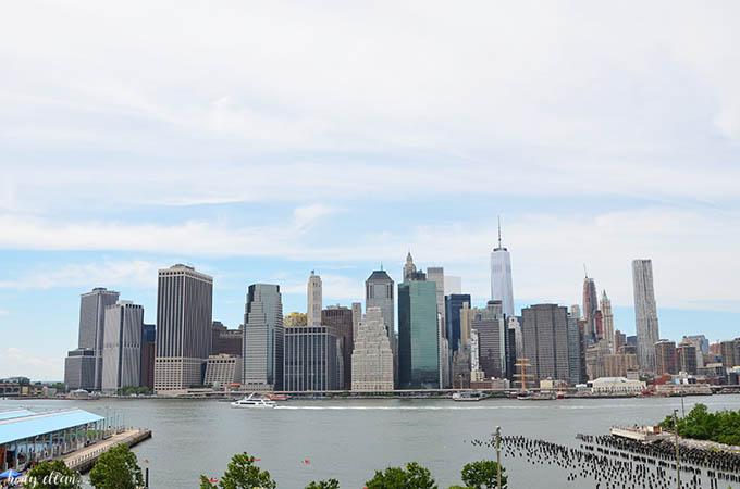 Nowy Jork co warto zobaczyć Brooklin Heights Promenada Manhattan