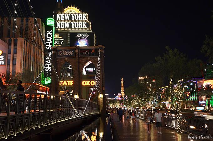 Las Vegas zwiedzanie New York hotel
