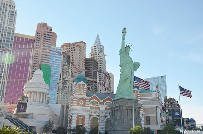 Las Vegas zwiedzanie New York Kasyno