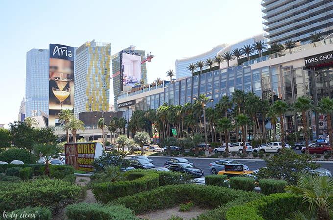 Las Vegas zwiedzanie the strip