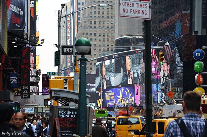 Nowy Jork co warto zobaczyć Time Square