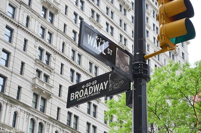 Nowy Jork co warto zobaczyć Wall Street