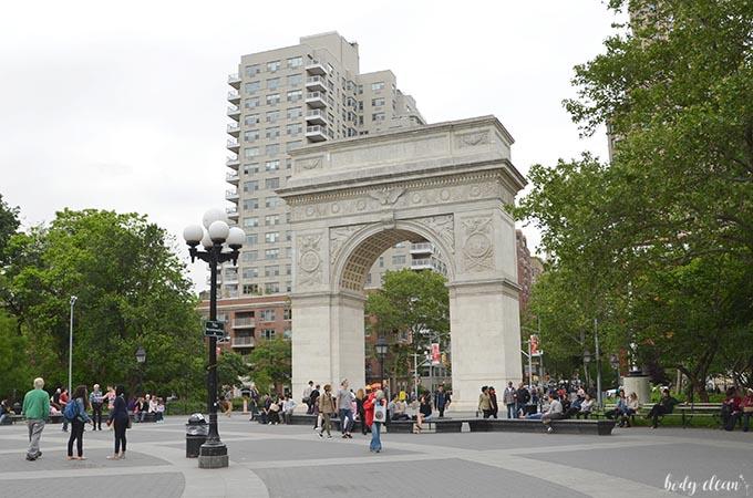 Nowy Jork co warto zobaczyć Washington Square