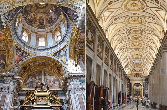Rzym bazylika Basilica Papale di Santa Maria Maggiore