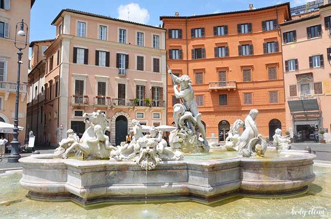 Rzym piazza Navona