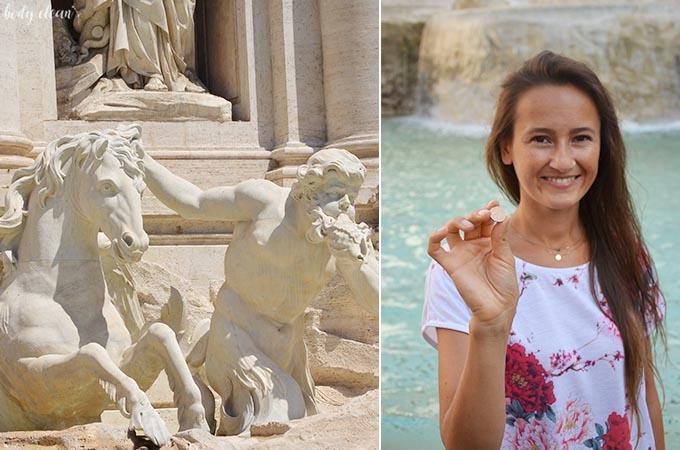 Rzym fontanna di Trevi