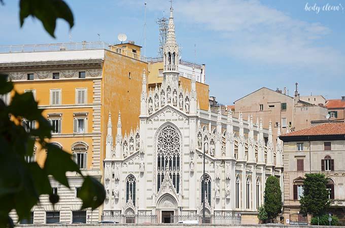 Rzym kościół serca Jezusowego