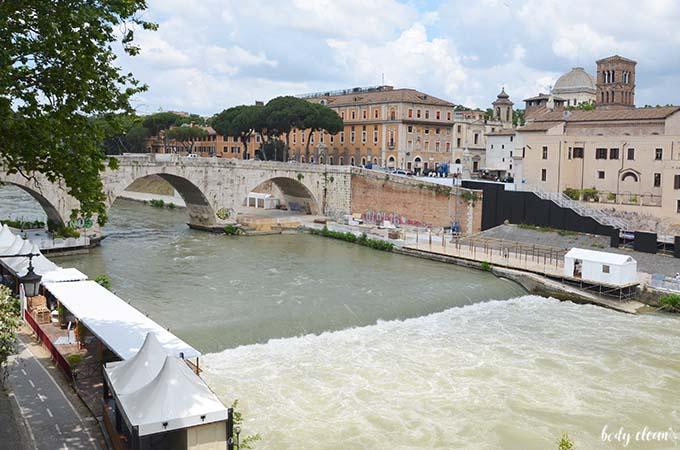 Rzym Tyber rzeka