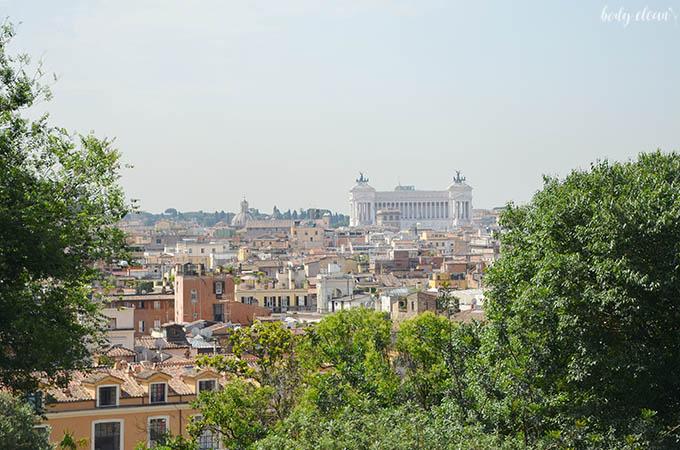 Rzym Terraza del pincio