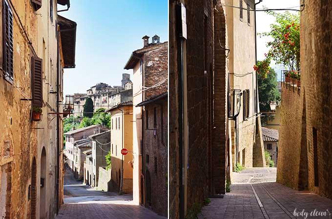 San Gimignano Toskania najpiękniejsze miejsca