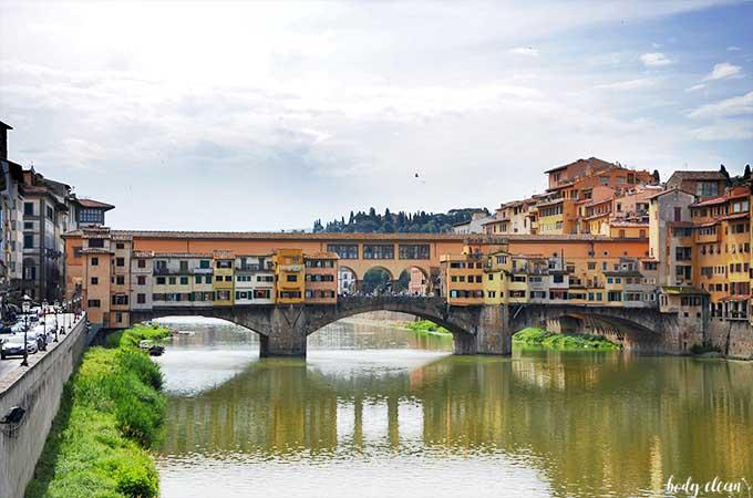 Ponte Vecchio Florencja Toskania najpiękniejsze miejsca