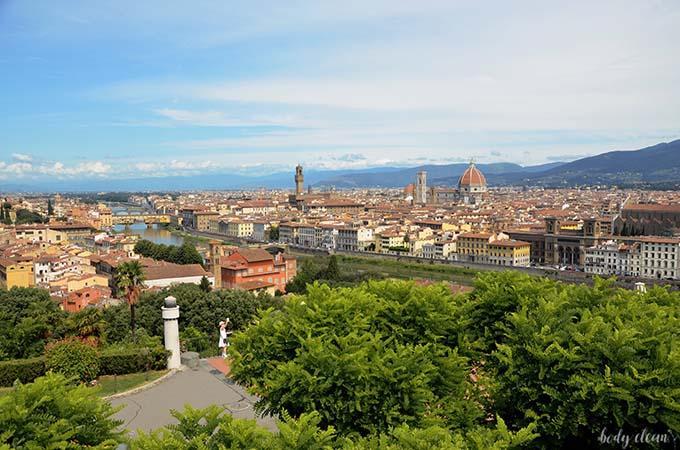 Plac Michała Anioła Florencja Toskania najpiękniejsze miejsca