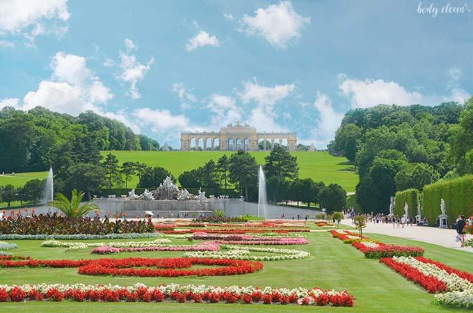Wiedeń co warto zobaczyć Schonbrunn Gloritta