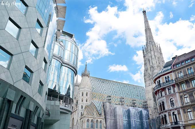 Wiedeń co warto zobaczyć Stephansplatz plac św. szczepana