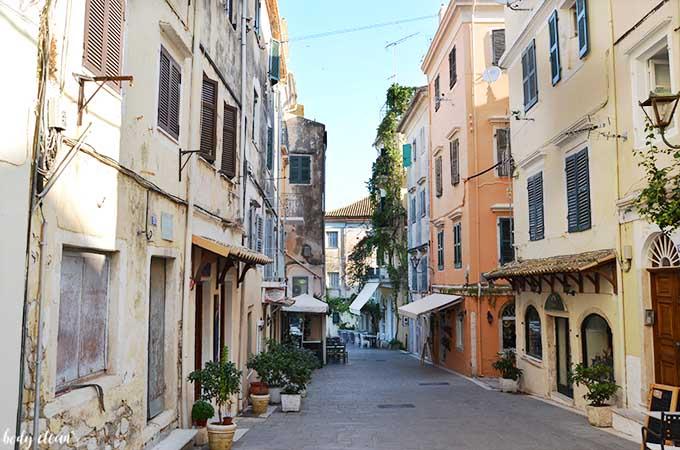 Korfu co warto zobaczyć miasto Korfu Kerkyra