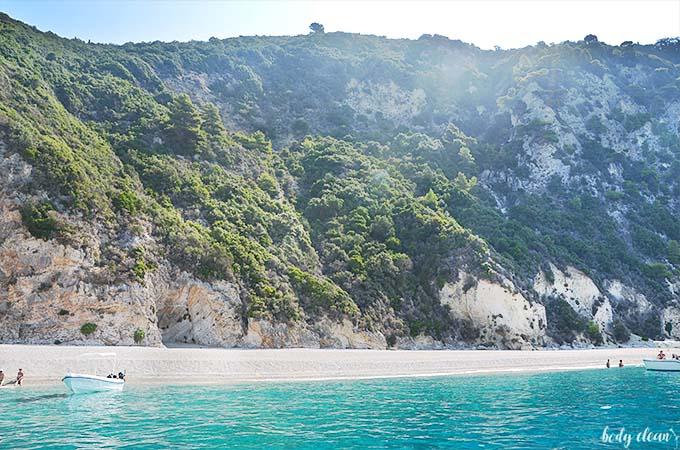 Korfu co warto zobaczyć Paradise Beach