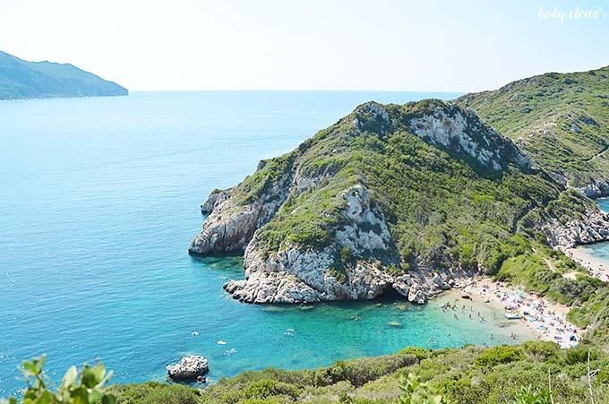 Korfu co warto zobaczyć Porto Timoni