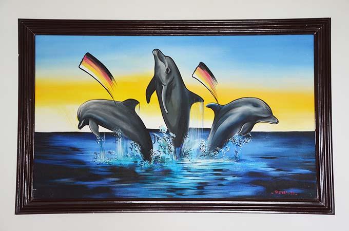 delfiny malediwy