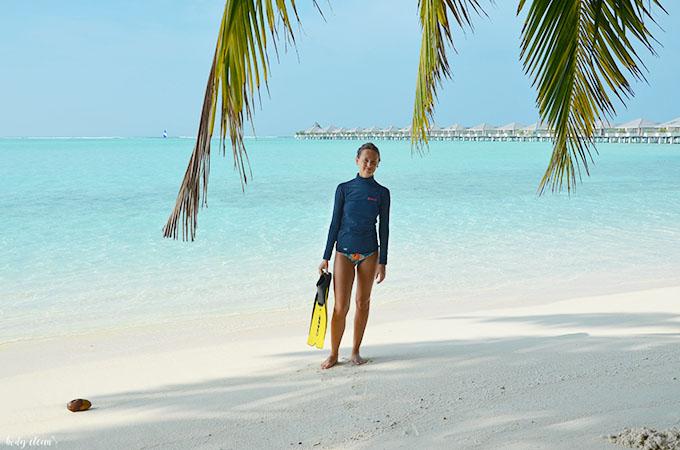 Malediwy snorkeling