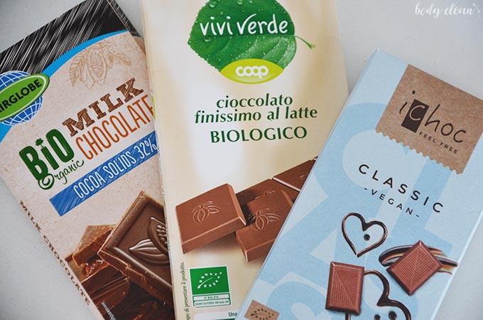 zdrowe przekąski czekolada ekologiczna
