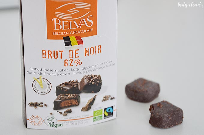 zdrowe przekąski wegańskie bezglutenowe czekoladki cukier kokosowy wegańskie