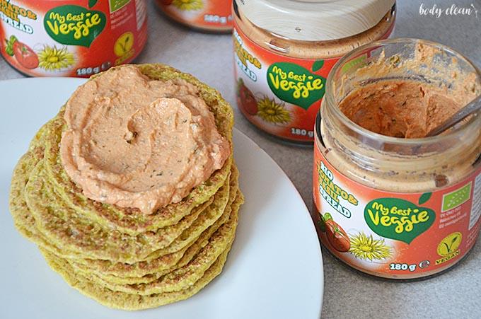 zdrowe przekąski wegańskie bezglutenowe pasta warzywna