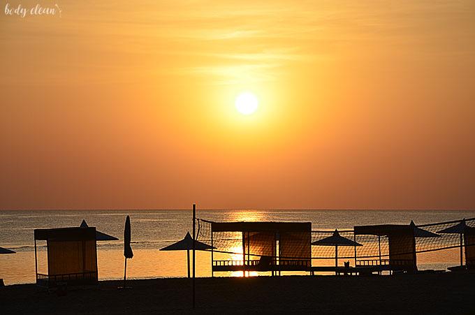 wschód słońca Egipt Marsa Alam