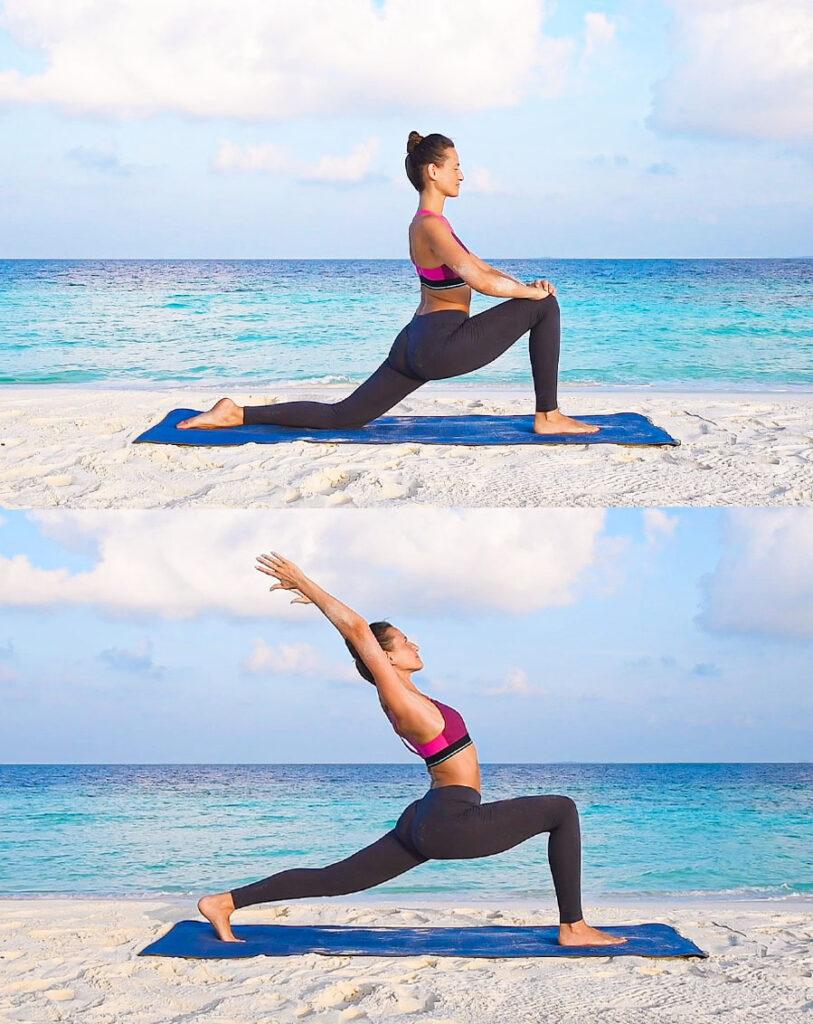 joga otwieranie bioder poziom podstawowy poziom zaawansowany